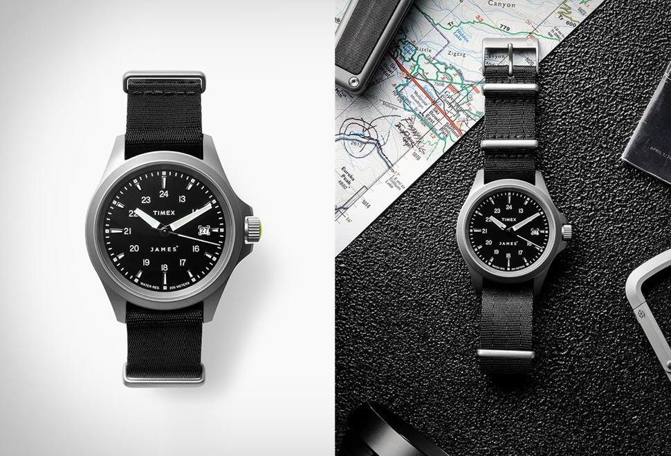 Relógio Masculino - The James Brand x Timex Expedition North Watch - Imagem - 1