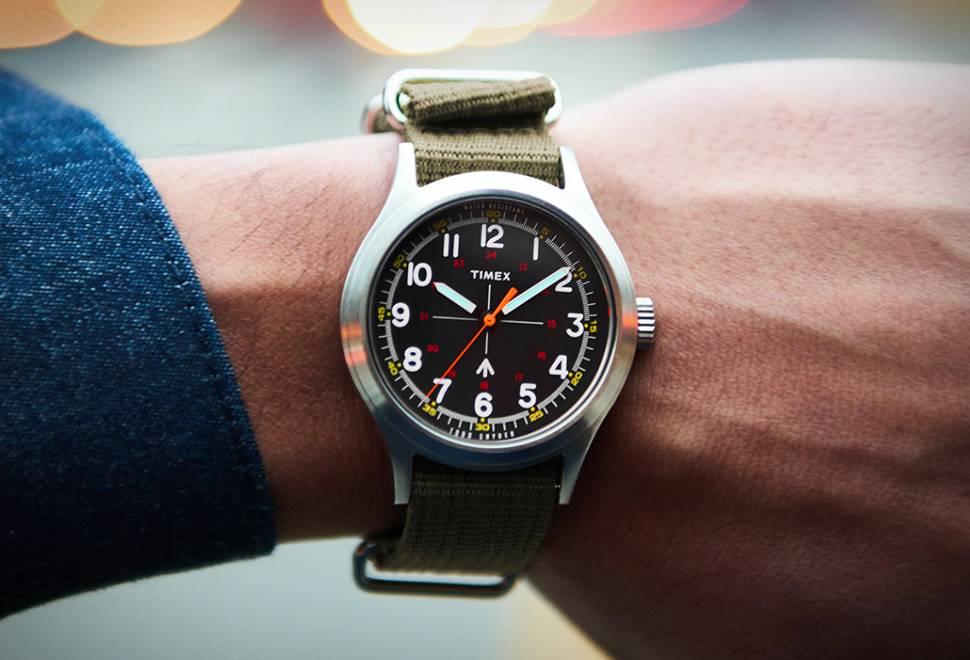 Relógio Militar Told Snyder e Timex