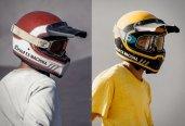 Capacetes Deus Django Vintage MX Helmet