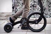 Triciclo Inovador que Combina Corrida e Ciclismo - HALFBIKE 3