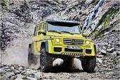 NOVO OFF ROAD MEMBRO DA FAMÍLIA MERCEDES-BENZ G500 4X4 SQUARED | Image