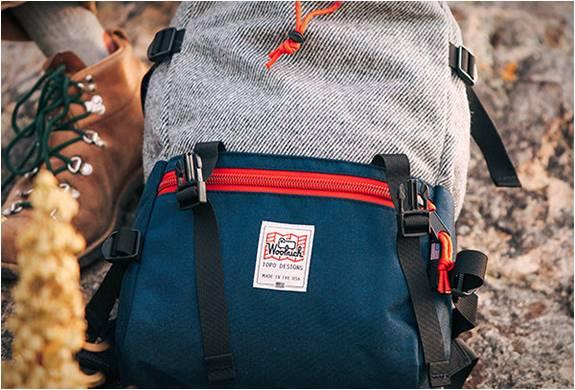 Mochila Rover Pack - Topo Designs X Woolrich - Imagem - 3