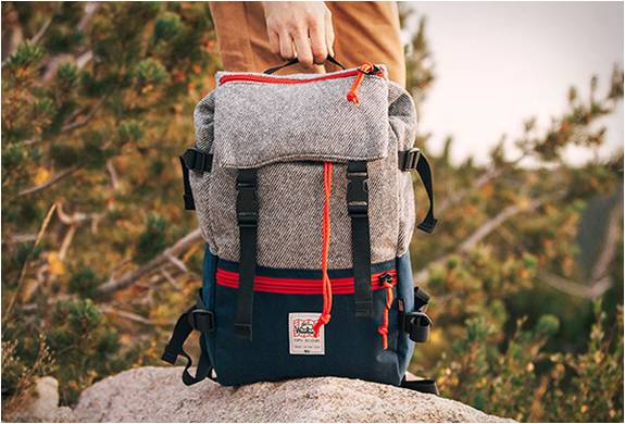 Mochila Rover Pack - Topo Designs X Woolrich - Imagem - 4