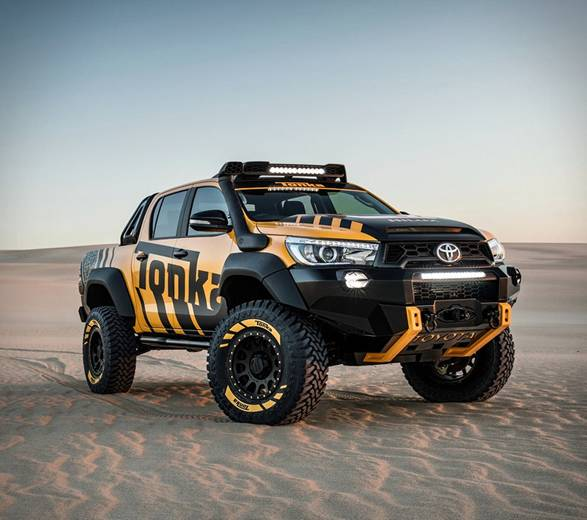 Toyota Hilux Tonka - Imagem - 2