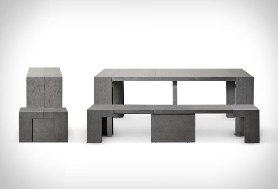 Mesa de jantar extensível - Imagem - 1
