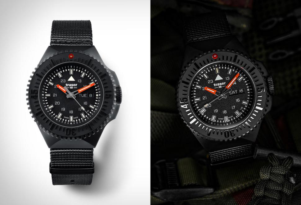 Os Melhores Relógios no Estilo Militar - TRASER P69 BLACK STEALTH WATCH - Imagem - 1
