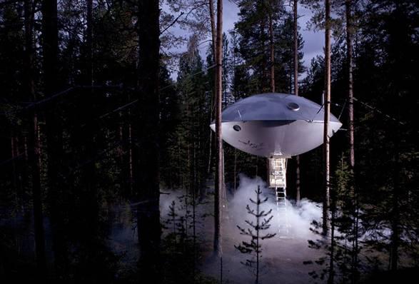 Hotel UFO | Treehotel - Imagem - 2