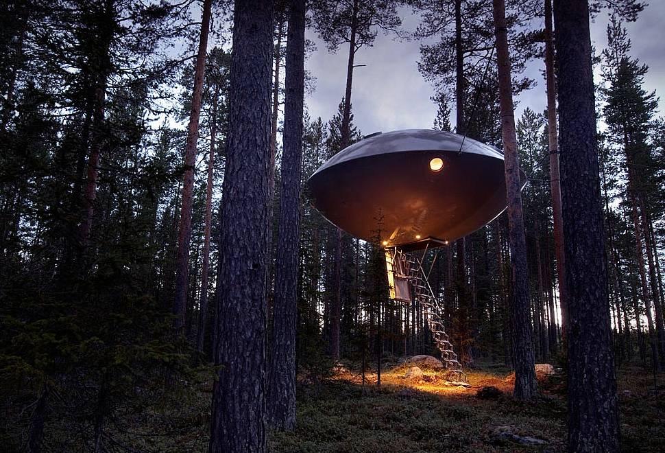 Hotel UFO   Treehotel - Imagem - 1