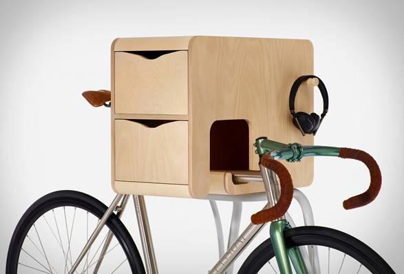 Suporte com armário para Bicicleta Butler - Imagem - 3