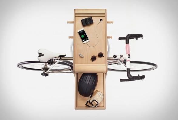 Suporte com armário para Bicicleta Butler - Imagem - 5