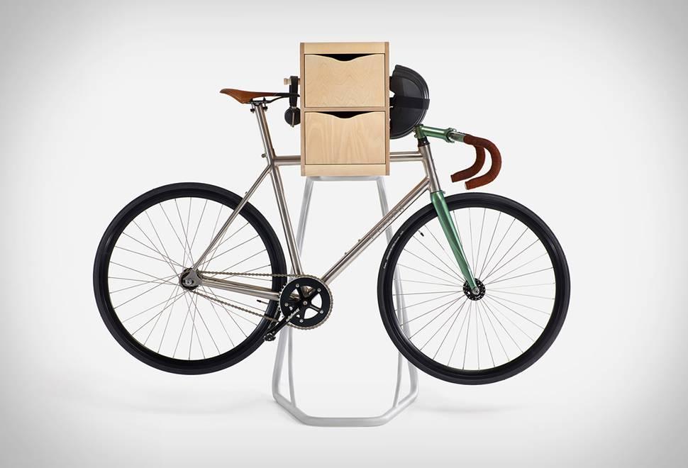Suporte com armário para Bicicleta Butler - Imagem - 1