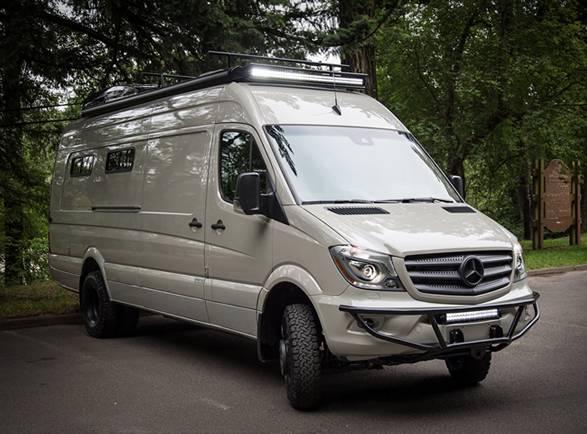 Van Valhalla 4x4 Camper - Imagem - 2