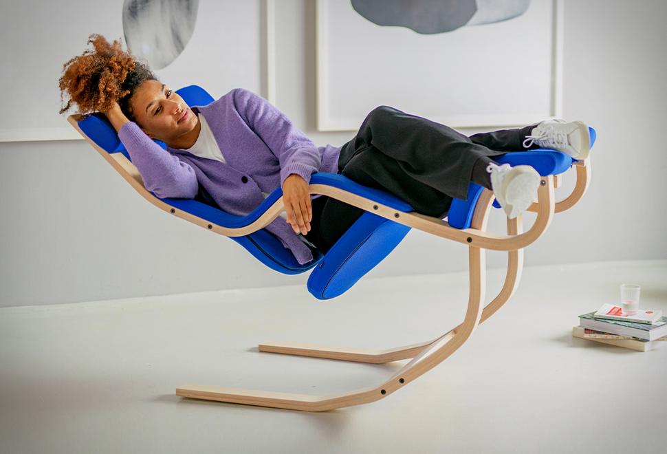 Cadeira permite que você relaxe totalmente na ausência de gravidade - VARIER GRAVITY - Imagem - 1