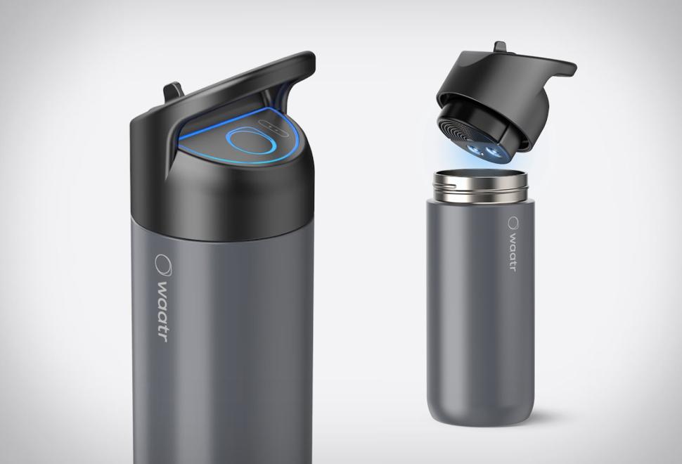 Garrafa Inovadora que Filtra e Esteriliza - WAATR BOTTLE - Imagem - 1