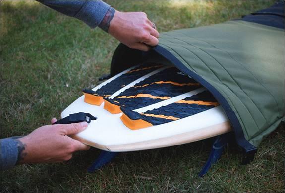 SACO PARA PRANCHA DE SURF - WAYWARD ROLL TOP BOARD BAG - Imagem - 4