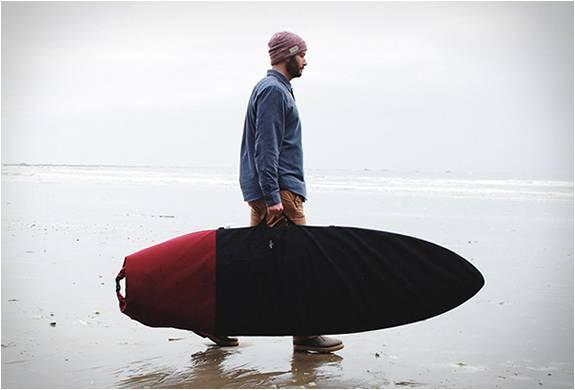 SACO PARA PRANCHA DE SURF - WAYWARD ROLL TOP BOARD BAG - Imagem - 1