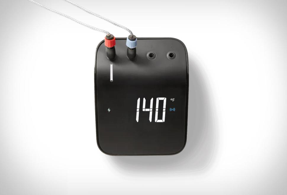 Termômetro Inteligente para Churrasco - WEBER CONNECT SMART GRILLING HUB