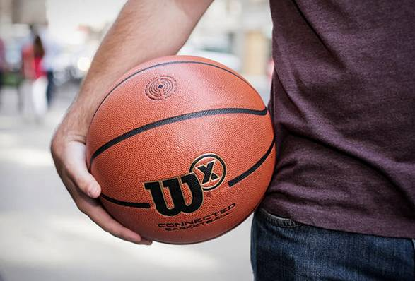 Bola de Basquete | Wilson X Connected Basketball - Imagem - 5