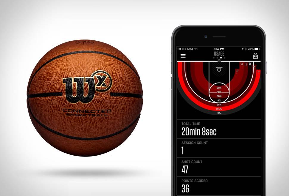 Bola de Basquete | Wilson X Connected Basketball - Imagem - 1