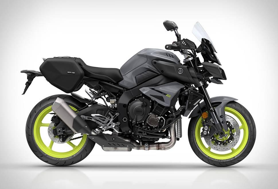 Moto Yamaha MT-10 Tourer Edition