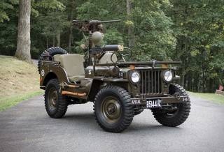 Jeep 1951 Willys M38