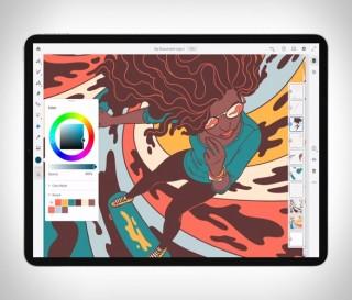 Novo Aplicativo de Desenho e Pintura para IPAD - ADOBE FRESCO - Imagem - 2