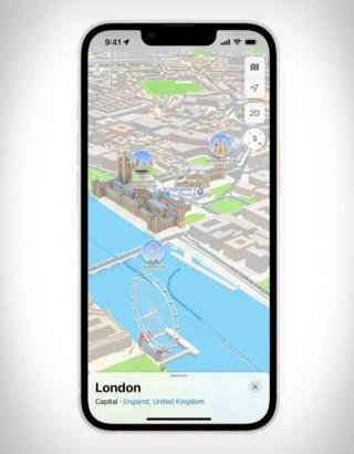 Experiência Tridimensional - Apple Maps 3D View - Imagem - 4