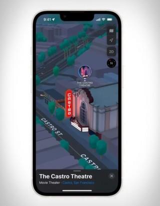 Experiência Tridimensional - Apple Maps 3D View - Imagem - 2