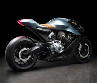 Moto Aston Martin AMB 001 Motorcycle - Imagem - 4