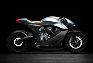 Moto Aston Martin AMB 001 Motorcycle