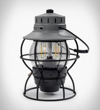 Lanterna com Estilo Vintage e Tecnologia Moderna - BAREBONES RAILROAD LANTERN - Imagem - 2