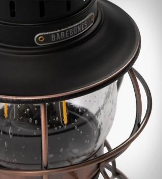 Lanterna com Estilo Vintage e Tecnologia Moderna - BAREBONES RAILROAD LANTERN - Imagem - 3