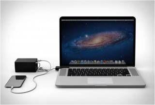 BATERIA PORTÁTIL PARA MACBOOK E IPHONE - BATTERYBOX