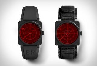Relógio Radar - BELL & ROSS RED RADAR CERAMIC