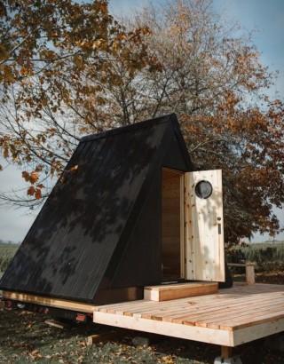 Cabana Portátil pré-fabricada Bivvi - Imagem - 5