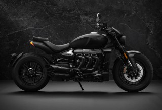 Blacked-Out Triumph Rocket 3