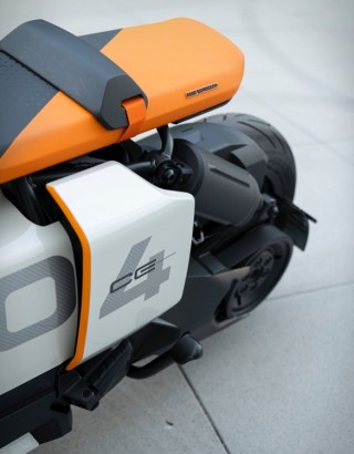 Scooter Elétrica BMW Definição CE 04 - Imagem - 5