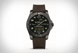 Relógio Aeroespacial Evo Cirrus Aircraft e Breitling