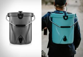 Refrigerador exclusivo para carregar nas costas - Brumate BackTap