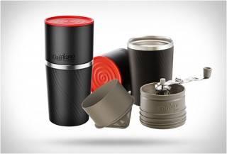 Cafflano - máquina de café portátil com moedor - Imagem - 2