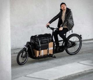Bicicleta Elétrica de Carga de Última Geração - Carqon Flatbed eBike - Imagem - 4