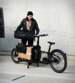 Bicicleta Elétrica de Carga de Última Geração - Carqon Flatbed eBike - Imagem - 2