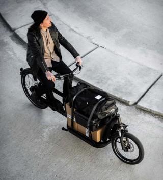 Bicicleta Elétrica de Carga de Última Geração - Carqon Flatbed eBike - Imagem - 5
