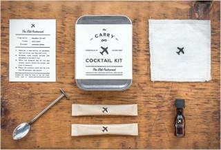 KIT PARA VIAGEM DE AVIÃO - CARRY ON COCKTAIL KIT
