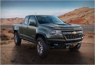 PICAPE CHEVROLET COLORADO ZR2 2015