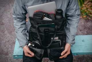 BOLSA - Chrome MXD Pace Tote Bag