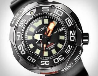 Relógio Mergulhador Profissional Citizen Eco-Drive - Imagem - 3