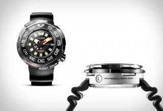 Relógio Mergulhador Profissional Citizen Eco-Drive