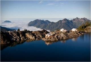 RESORT NO CANADÁ - CLAYOQUOT WILDERNESS RESORT