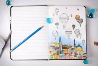 Coloring Notebook   Caderno para Colorir - Imagem - 2